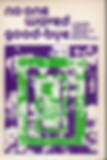 jimi hendrix book/no one waved good-bye / england edition 1973