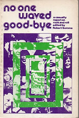 jimi hendrix book/no one waved good-bye / england edition 1973