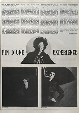 jimi hendrix magazines 1969/ best february 1969