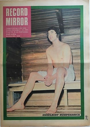 record mirror october 5 1968/jimi hendrix newspaper 1968