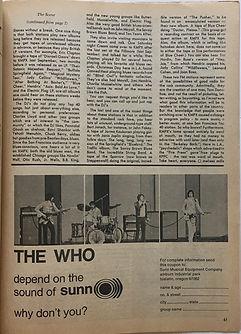 jimi hendrix magazine / hit parader  september 1968