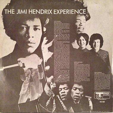jimi hendrix/rotily vinyl/are you experienced