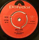 gypsy eyes/singles vinyls 45t collector polydor 1968 norway