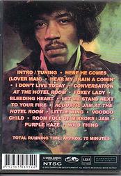 jimi hendrix dvd / live at the royal albert hall london 1969