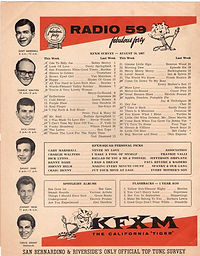 purple haze N°12/ KFXM radio tiger 590