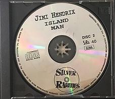 jimi hendrix bootlegs cd / island man disc 2