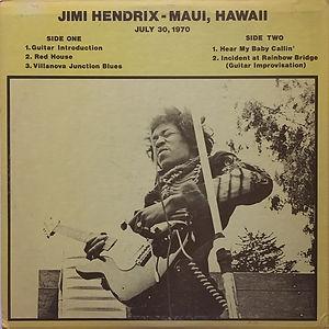 jimi hendrix bootlegs vinyls 1970 / lp 1003 :  hendrix maui