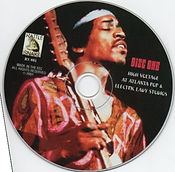 jimi hendrix bootlegs cd / high voltage at atlanta pop & electric lady studios disc 1
