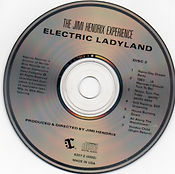 jimi hendrix cd/electric ladyland disc 2 reprise recors 1987 usa