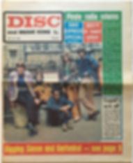 jimi hendrix newspaper/disc music echo july 20 1968