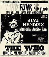 jimi hendrix memorabilia 1970 / ad : dallas