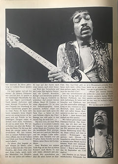 jimi hendrix collector magazines 1970/ pop november 1970 / requiem
