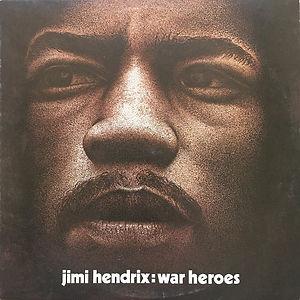 jimi hendrix vinyl album lp/ war heroes promotion 1972
