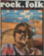 jimi hendrix magazine/rock & folk 1/1968