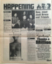 jimi hendrix newspapers 1970 /disc & music echo : jan.24, 1970