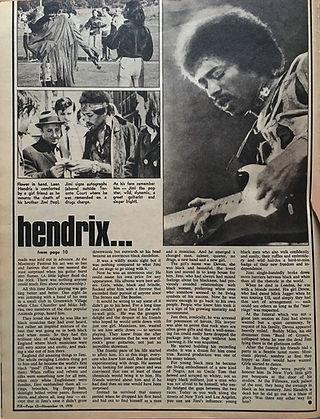 jimi hendrix collector /pix   Nov. 14,1970  / secret sex life