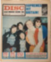 jimi hendrix newspapers/disc & music echo 27/1/68