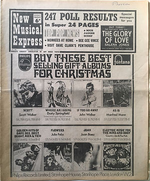 new musical express 9/12/1967 jimi hendrix collector newspaper