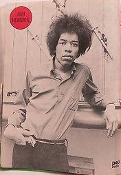 jimi hendrix magazine collector /popfoto 4/1967