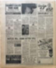 jimi henrix newspaper/new musical express 3/2/1968