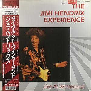 jimi hendrix vinyls collector /  live at winterland 1968