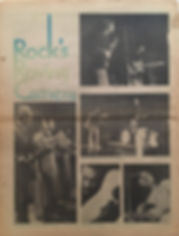 jimi hendrix newspaper 1970 / rock feb. 2, 1970