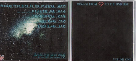 jimi hendrix bootlegs cds 1969/message from 9 to the universe volume one