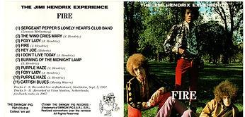 JIMI HENDRIX ROTILY CD/FIRE