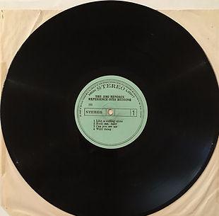 jimi hendrix collector vinyls lp album/side 1 jimi hendrix experience historic performances /south korea 1971