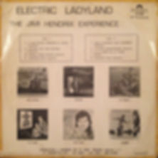 hendrix rotily vinyls collector/electric ladyland  peru