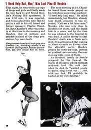 jimi hendrix magazines 1970 death/  jet : october 8,1970