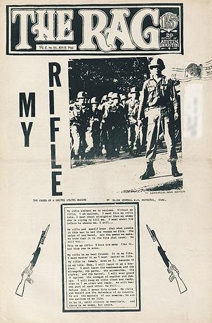 jimi hendrix newspaper/the rag august 8 1968/one hendrix % Good