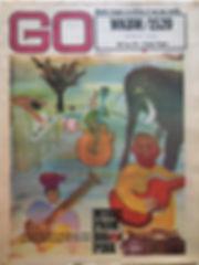 jimi hendrix newspaper/go august 23 1968