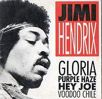 jimi hendrix cd/gloria purple haze hey joe voodoo chile/germany polydor