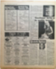 jimi hendix newspaper 1968/disc music echo december 7 1968/top twenty LPs electric ladyland N° 4