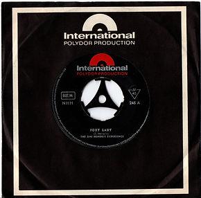 jimi hendrix rotily vinyls foxy lady