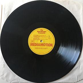 jimi hendrix vinyls album /side 3 / the jimi hendrix concerts mediamotion records