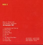 jimi hendrix box cd/disc 2 / stockholm 4/9/67