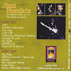 jimi hendrix bootlegs cds 1970 / stand up for once in your life