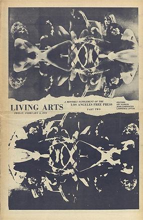 jimi hendrix newspaper 1970 / los angeles free press part two /  feb. 6, 1970