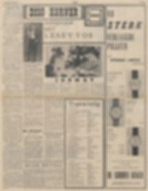 jimi hendrix newspapers 1967/amigoe di curaçao  march 17, 1967