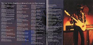 jimi hendrix bootlegs cd/dagger records live in ottawa