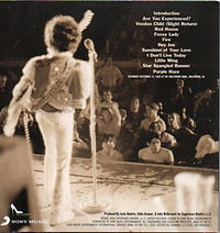 jimi hendrix cd bootleg/live at the hollywood bowl / family edition