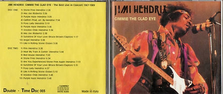 jimi hendrix cd bootlegs 1969/gimme the glad eye
