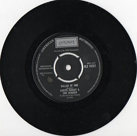 jimi hendrix vinyls singles collector/ballad of jimi / london 1970