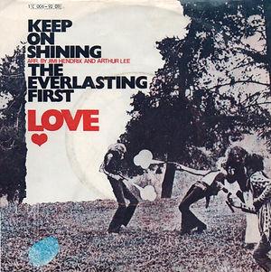 jimi hendrix single vinyls/ love : the everlasting first