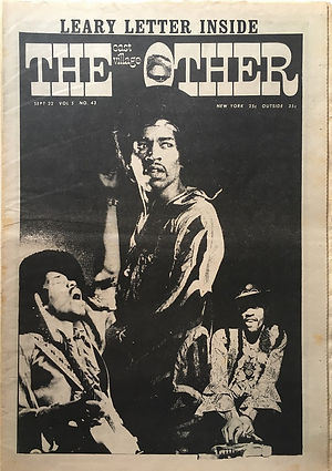 jimi hendrix newspapers 1970 / the east village other  September 22, 1970