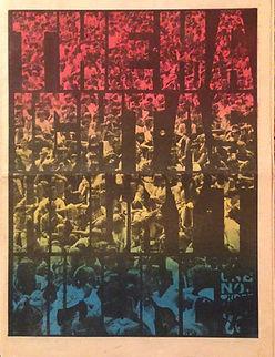 jimi hendrix rotily newspapers /the haight ashbury tribune 1967