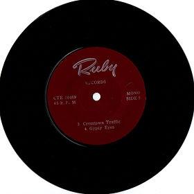 jimi hendrix collector EP vinyls 45rdn/ crosstown traffic/gypsy eyes thailland 1969 ruby records