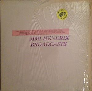 broadcasts TMOQ color vinyl jimi hendrix collector